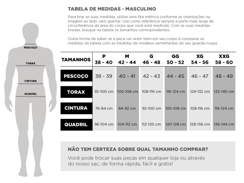 Tabela Masculino