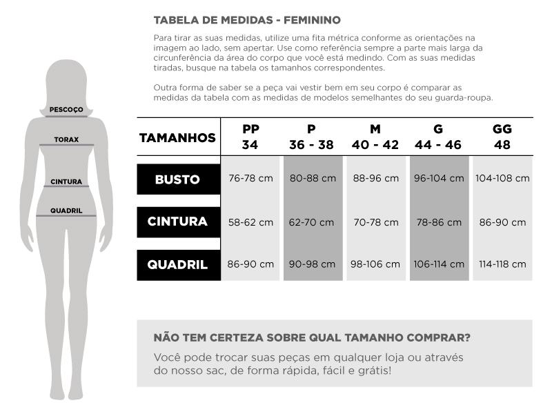 Tabela Feminino