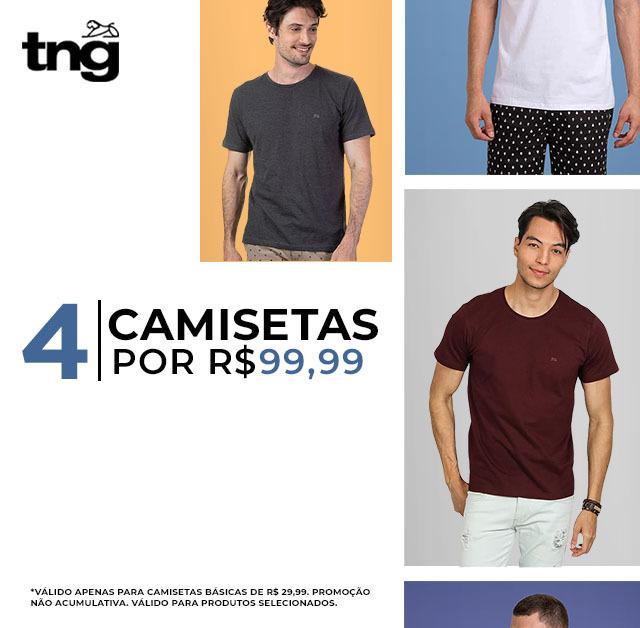4 Camisetas