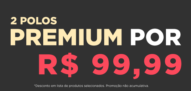 2 POLOS PREMIUM 99