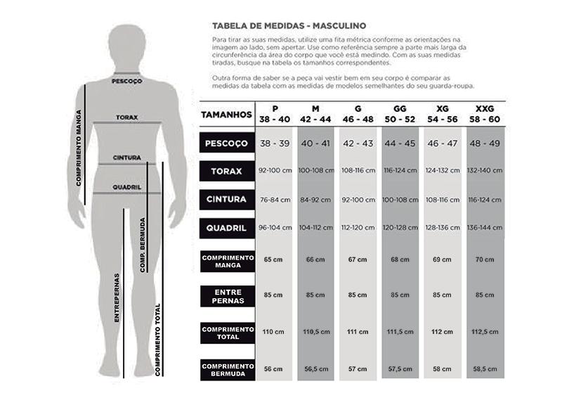 Tabela Masculina