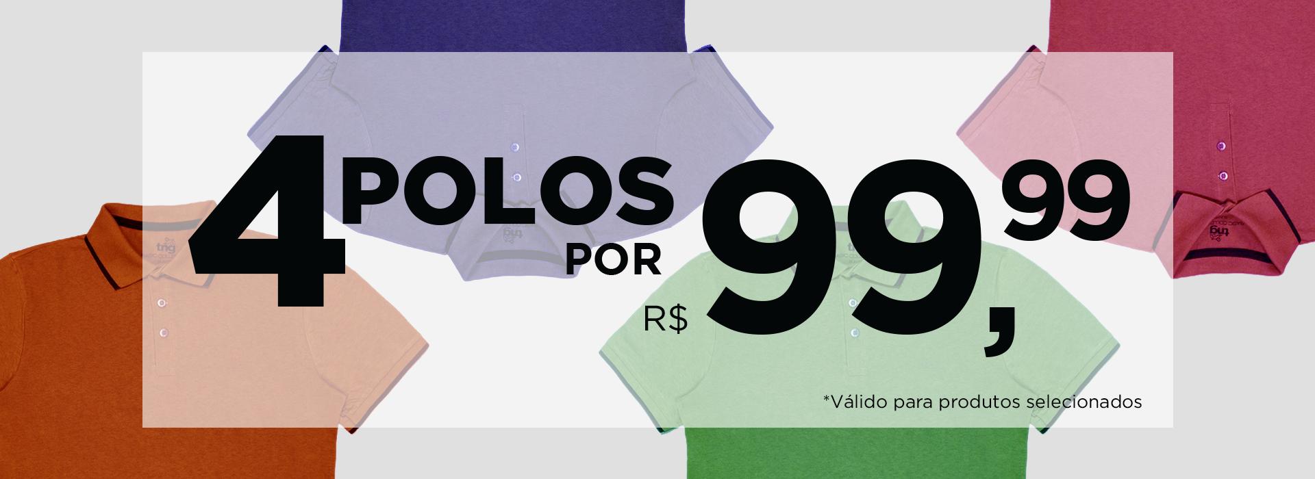 4 POLOS 99
