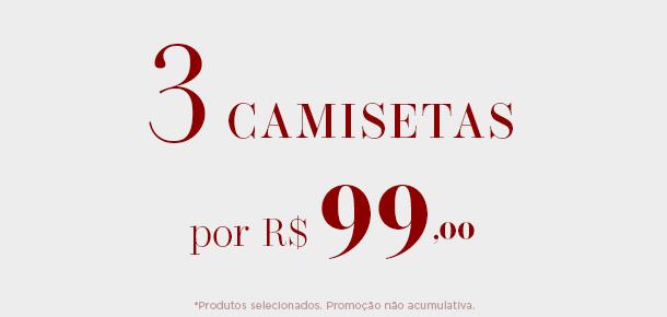 3 CAMISETAS 99